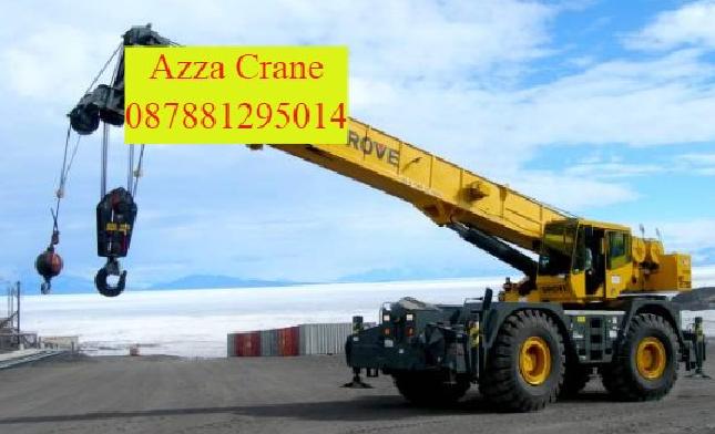 Sewa Crane di Ciater